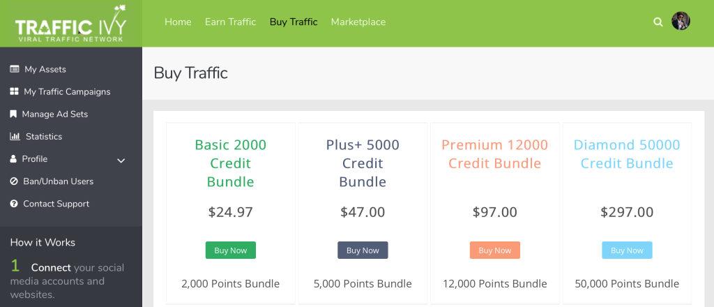 traffic ivy pricing