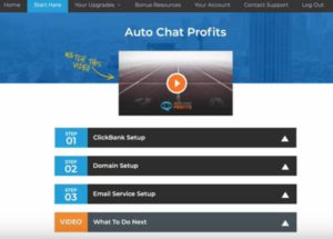 Auto Chat Profits Products