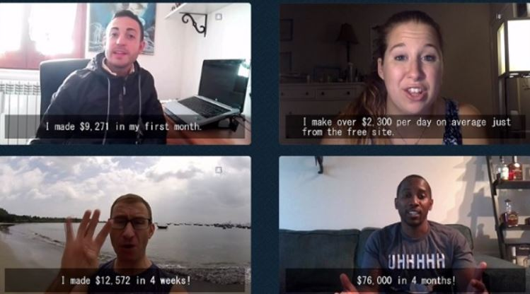 Cash-Website-Success-Fake-Testimonials 4 people
