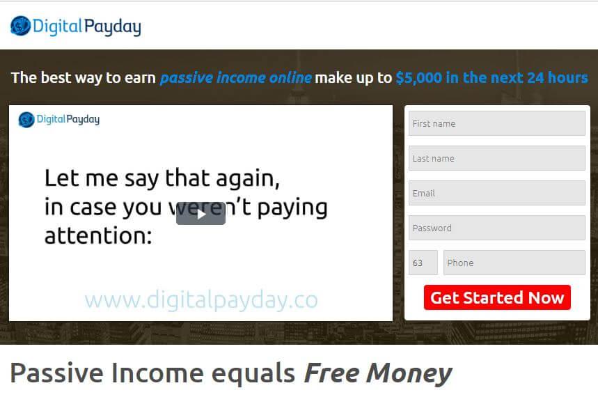 Digital Payday Login Logo