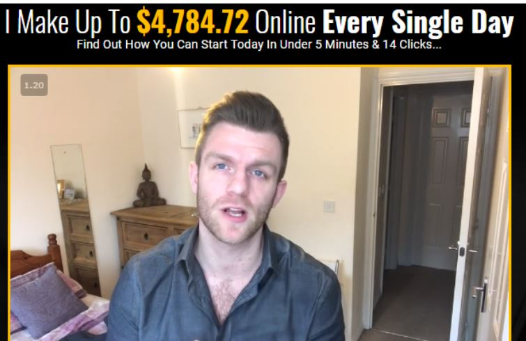 Affiliate Cash Club Fake Testimonial 1