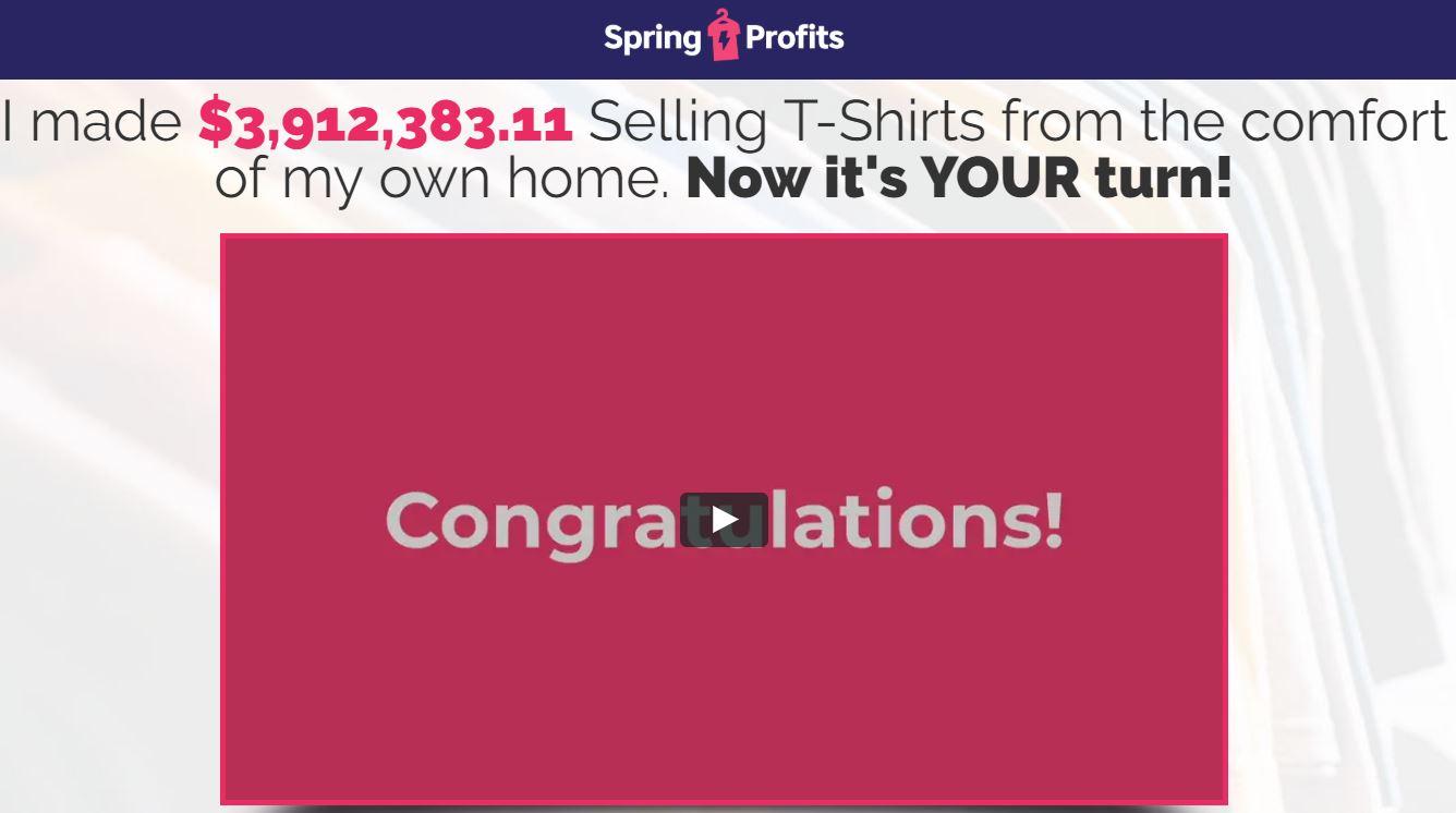 Spring Profits Review Logo