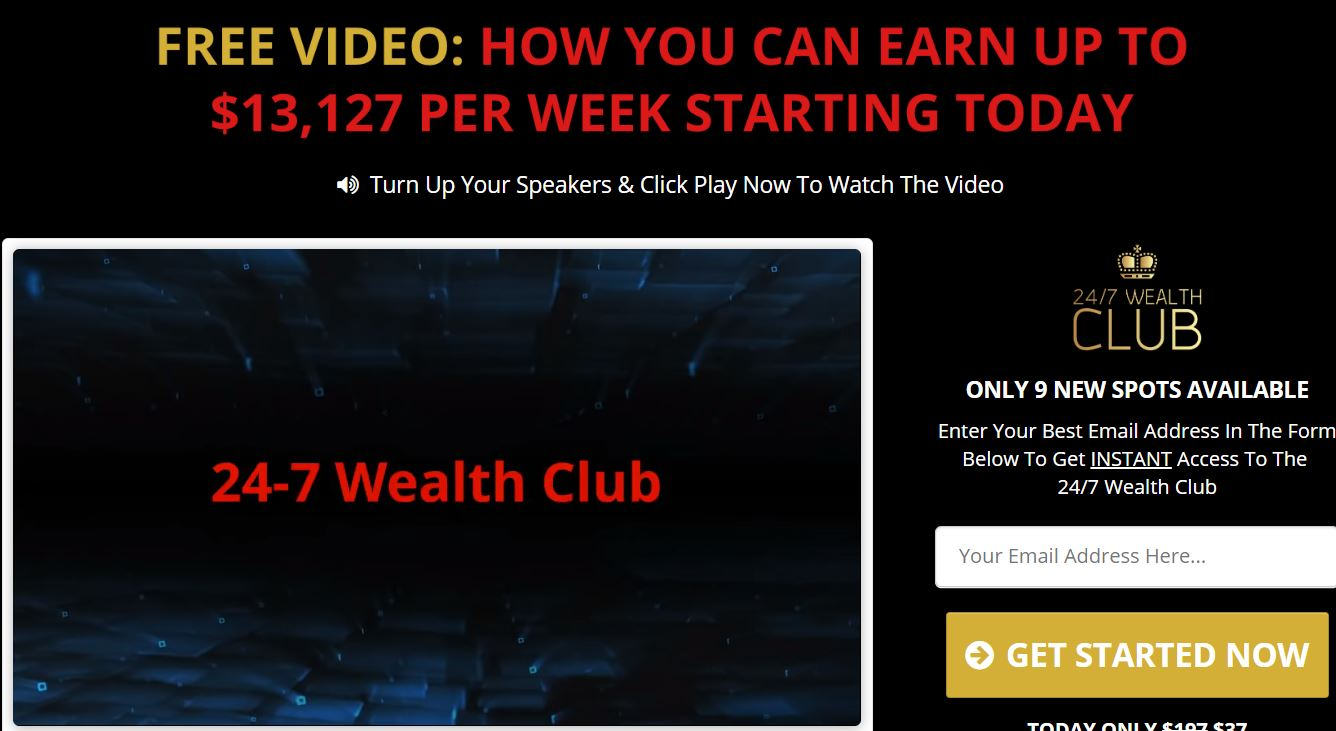 247 wealth club logo