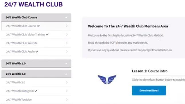247 wealth members area