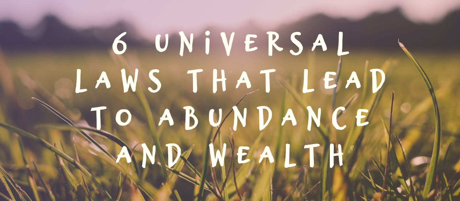 Abundance and Wealth Logo