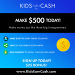 Kids Earn Money Logo