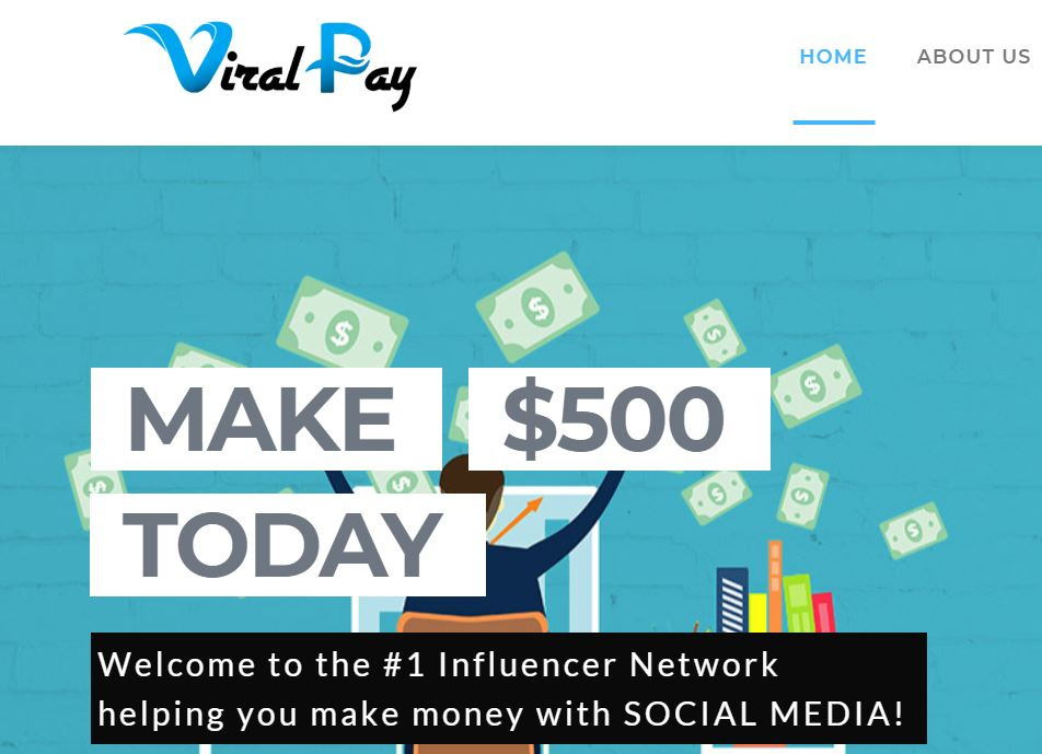 Viral Pay Logo