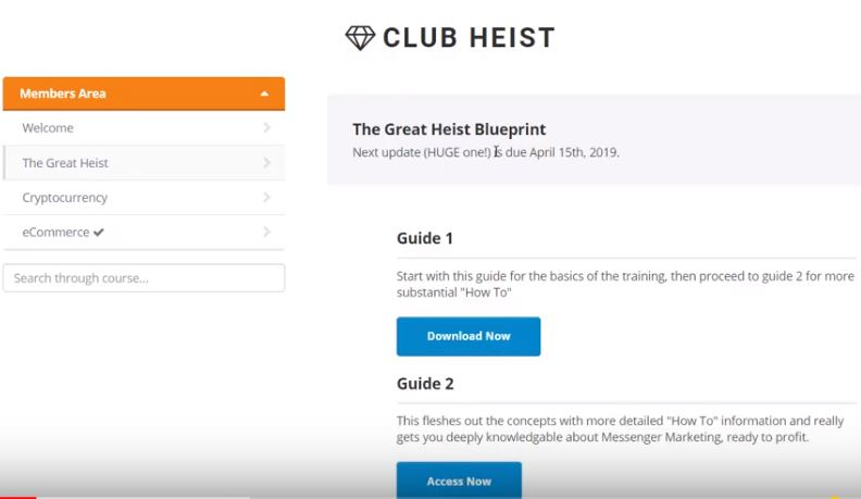 The Great Heist Review blueprint