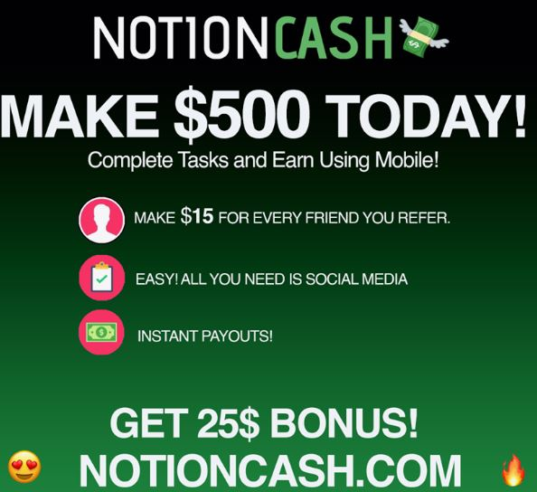 notioncash.com logo