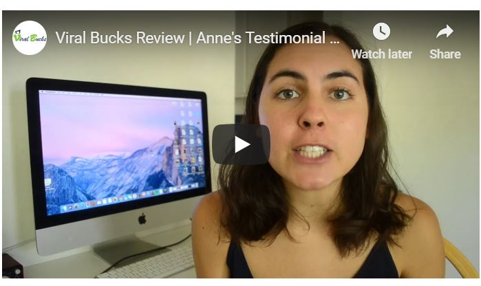 viral bucks fake video testimonial (girl)