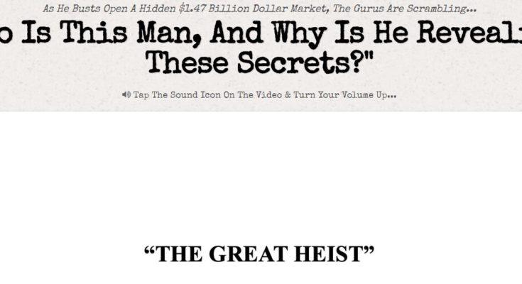 The Great Heist Logo