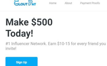 Clout Pay Review Homepage
