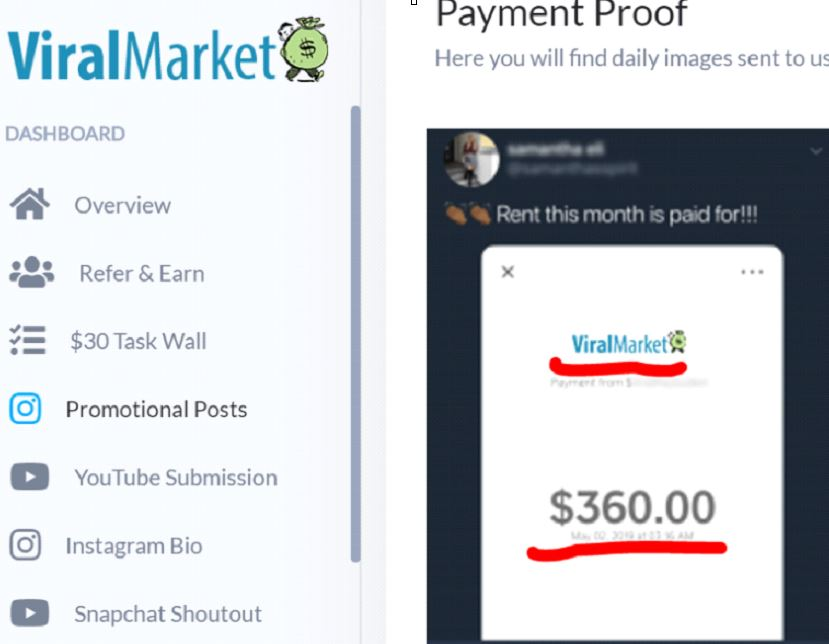 Eazy Dollars Vs Viral Market Payment proof