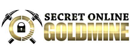 Secret online goldmine logo