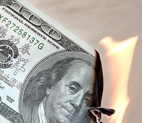 burned-100-dollar-bill
