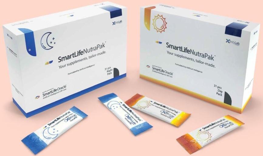 Vyvo Nutrapak samples