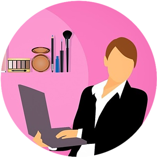 woman in affiliate marketing business
