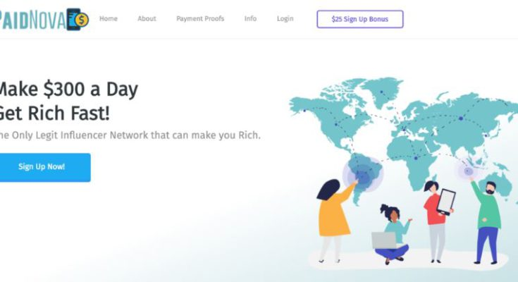 Paid Nova Review Landing Page