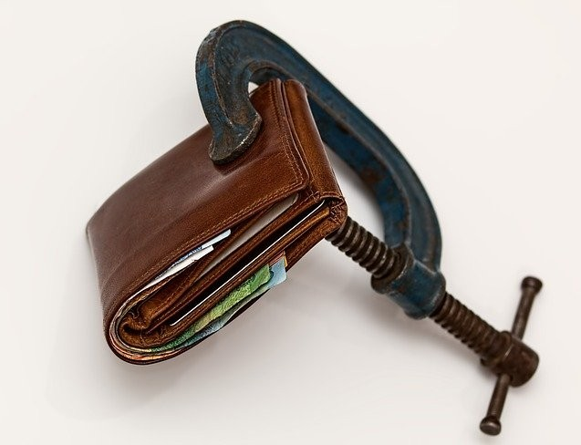 clamp wallet