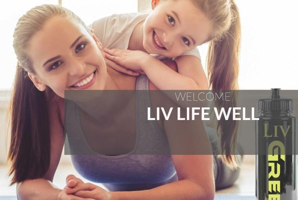 Liv International landing page