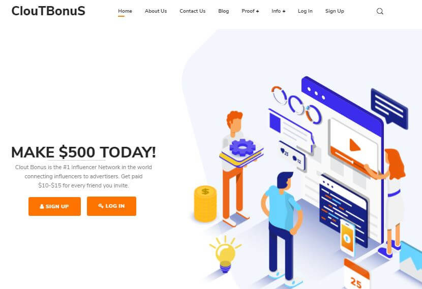 Clout Bonus Review Logo